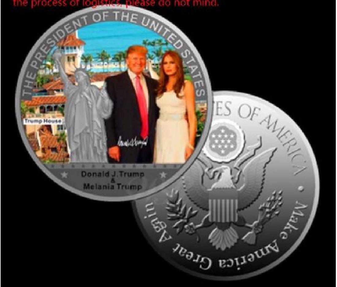 Donald Trump & Melania Statue of Liberty collection