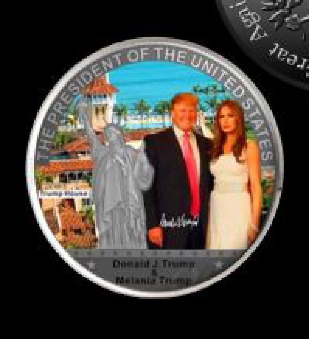 Donald Trump & Melania Statue of Liberty collection - 2