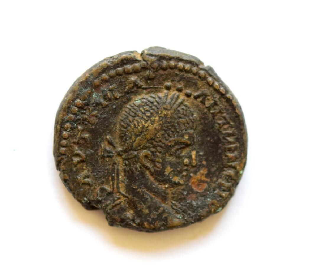 Volusian AE sestertius, CONCORDIA AVGG S-C, Rome mint