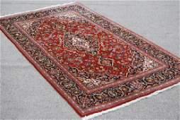 Hand woven Persian Kashan Rug 7.11x4.3