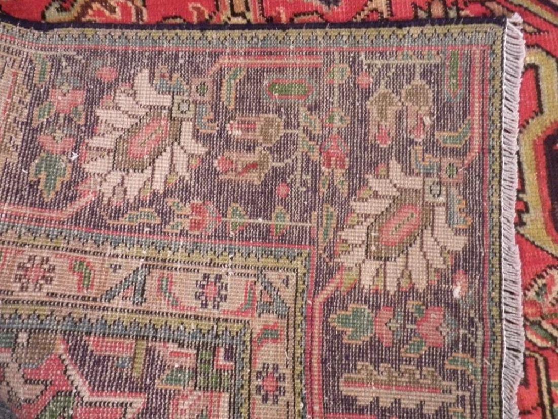 Semi Antique Persian Heriz Rug 10.8x7.3 - 5