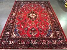 Vintage Authentic Persian Sarouk Rug 7.2x 10.4