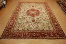 Antique Super Detailed Persian Tabriz Rug 6.9x9.8
