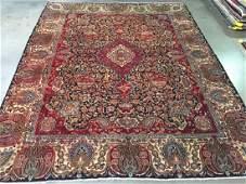 Stunning Antique Persian Kashmar Rug 10x12.5