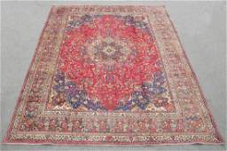 Handmade Semi Antique Persian Kashan Rug 12.8x9.6