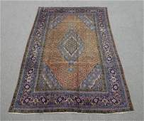 Rare Lovely Semi Antique Persian Tabriz Rug 10.1x6.3