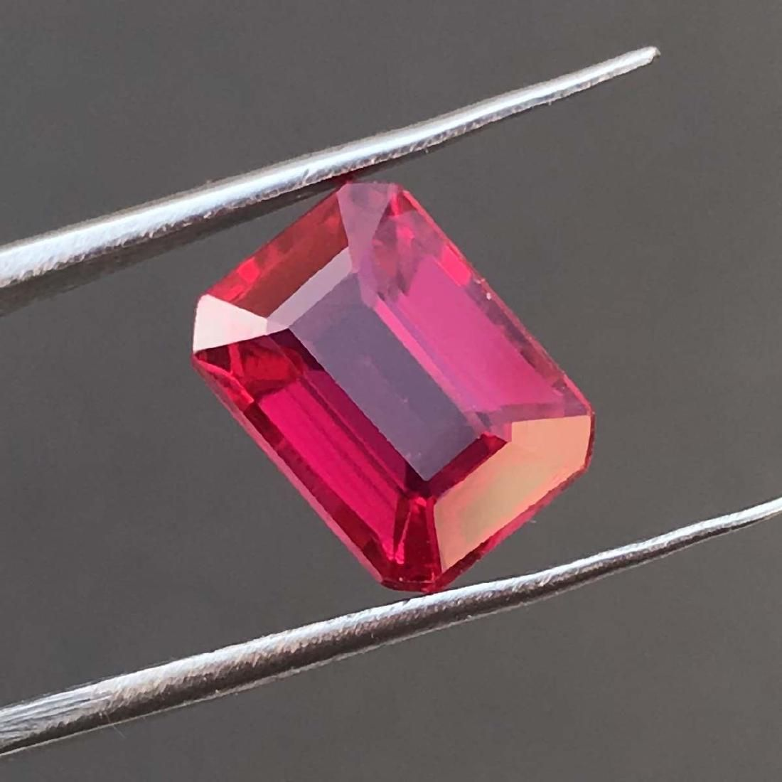 4.85 GiE certified Red Ruby