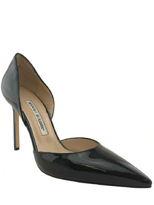 94acd986c94 Manolo Blahnik Tayler Patent Leather d Orsay Pumps Size