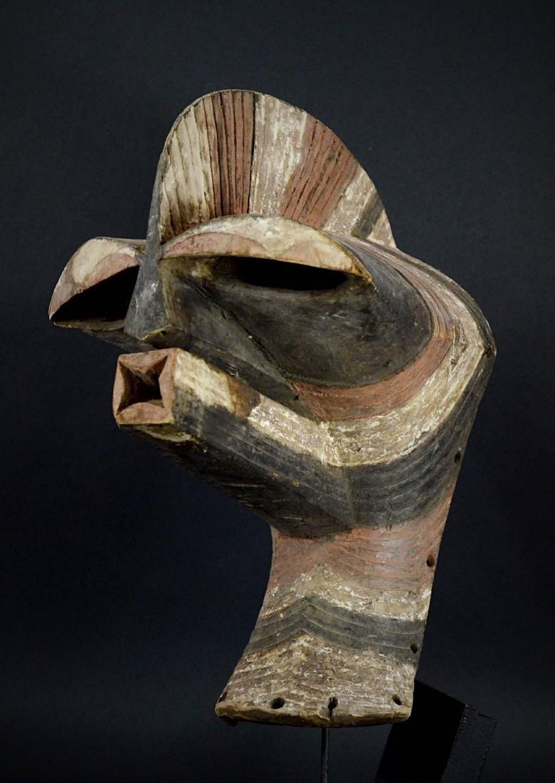 Big SONGYE Kifwebe War mask - DRC - 3