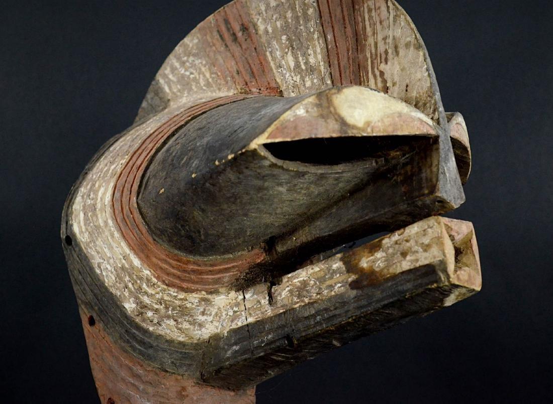 Big SONGYE Kifwebe War mask - DRC - 8