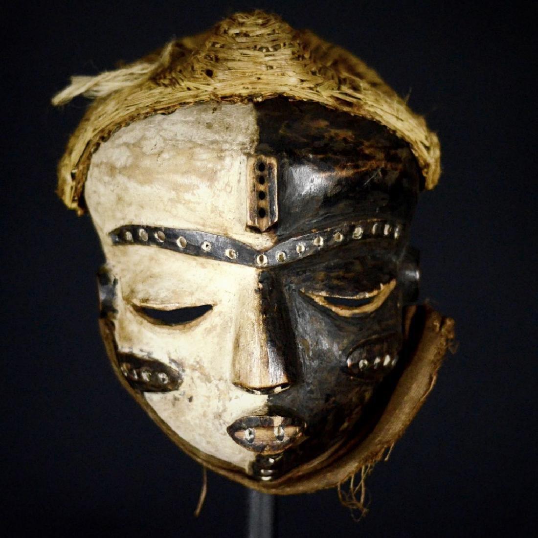 Elegant African Tribal PENDE Mbangu Mask DRC - 10