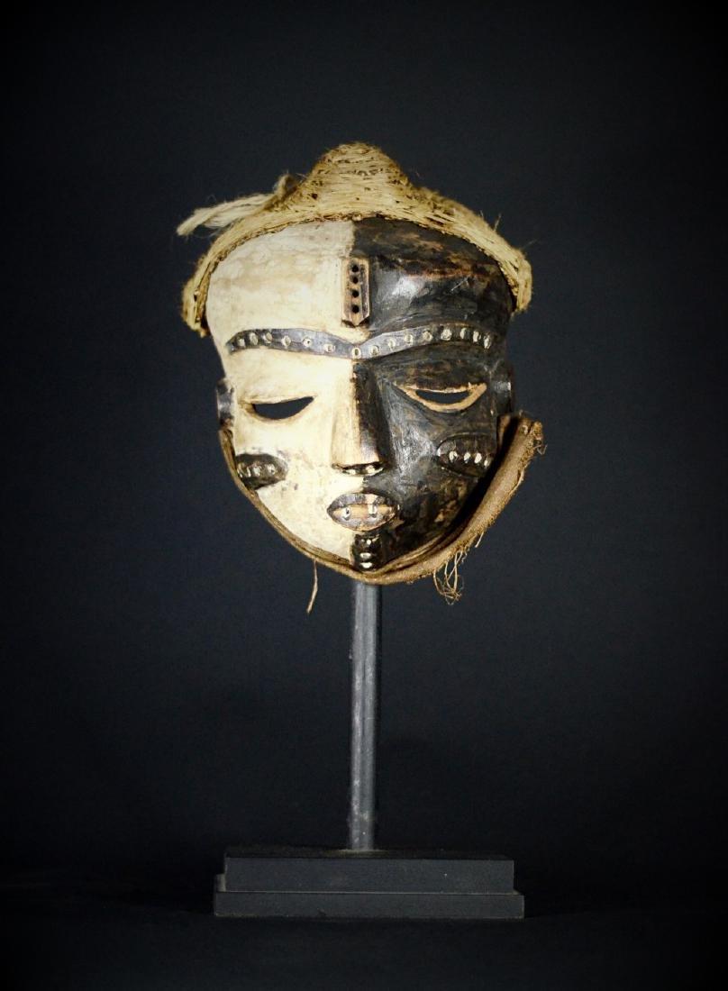 Elegant African Tribal PENDE Mbangu Mask DRC
