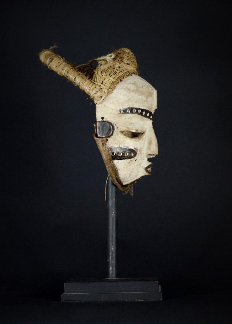 Elegant African Tribal PENDE Mbangu Mask DRC - 7