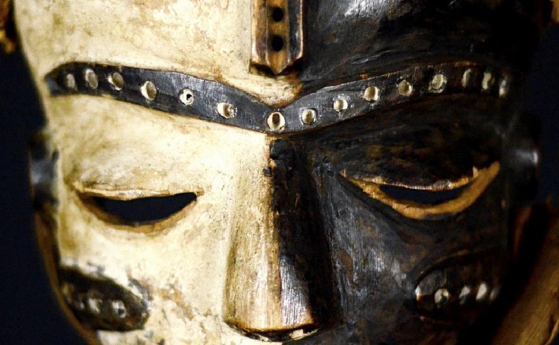 Elegant African Tribal PENDE Mbangu Mask DRC - 9