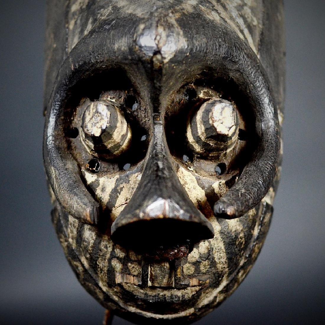 African Tribal KUBA / Ngeende Pwoom Itok Mask - 10