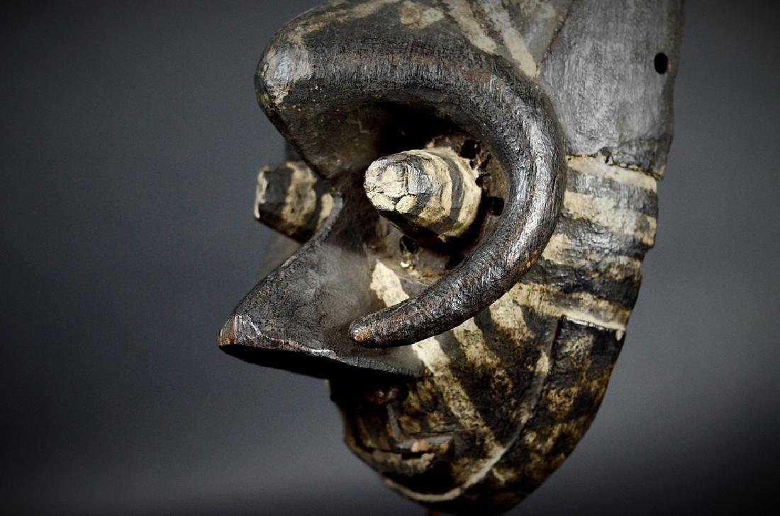 African Tribal KUBA / Ngeende Pwoom Itok Mask - 2