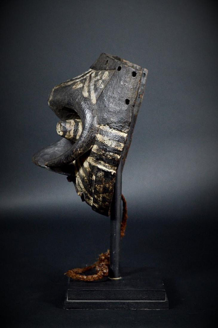 African Tribal KUBA / Ngeende Pwoom Itok Mask - 4