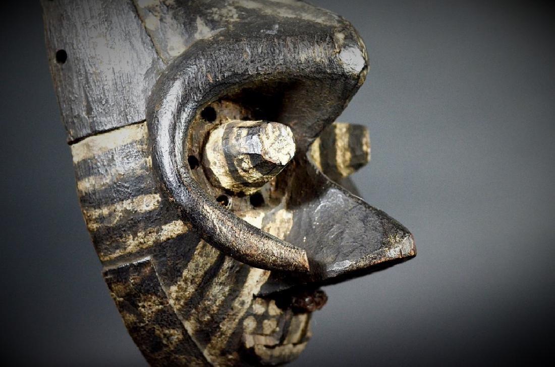 African Tribal KUBA / Ngeende Pwoom Itok Mask - 8