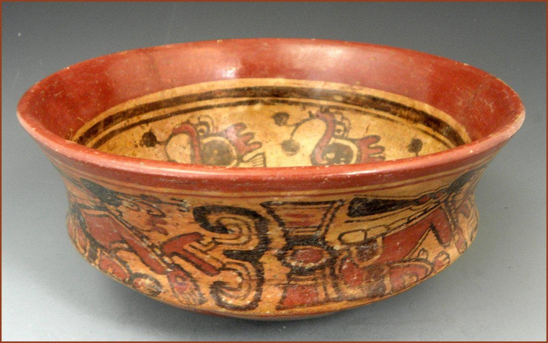 Pre-columbian Mayan Chiefs Bowl