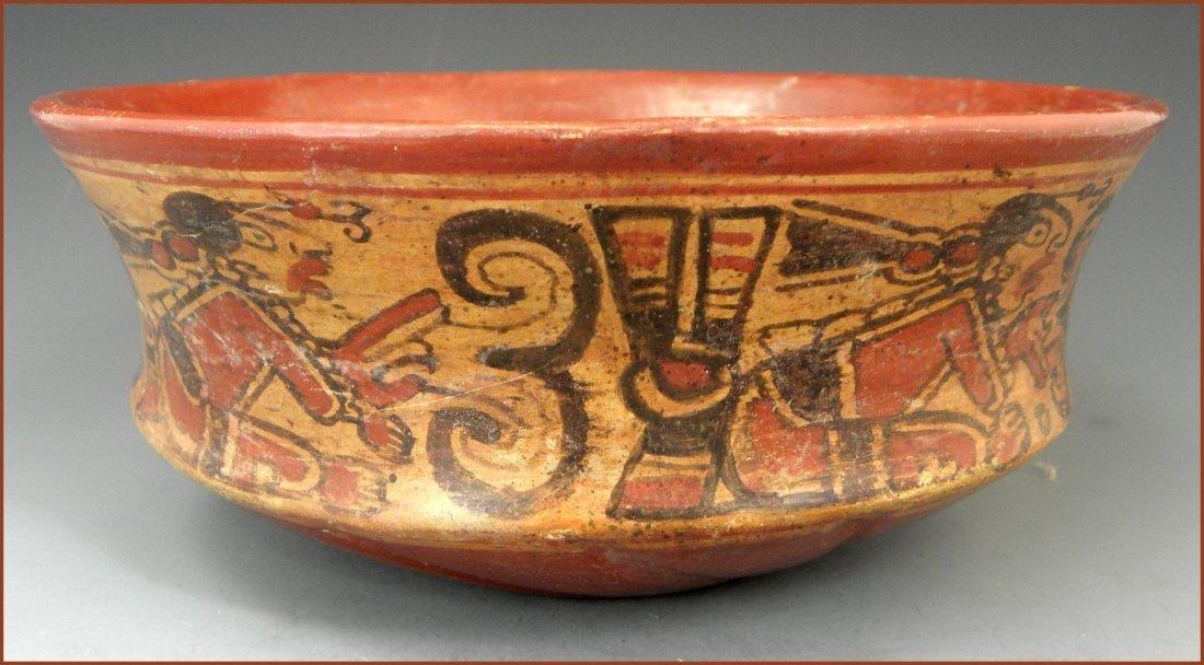 Pre-columbian Mayan Chiefs Bowl - 2