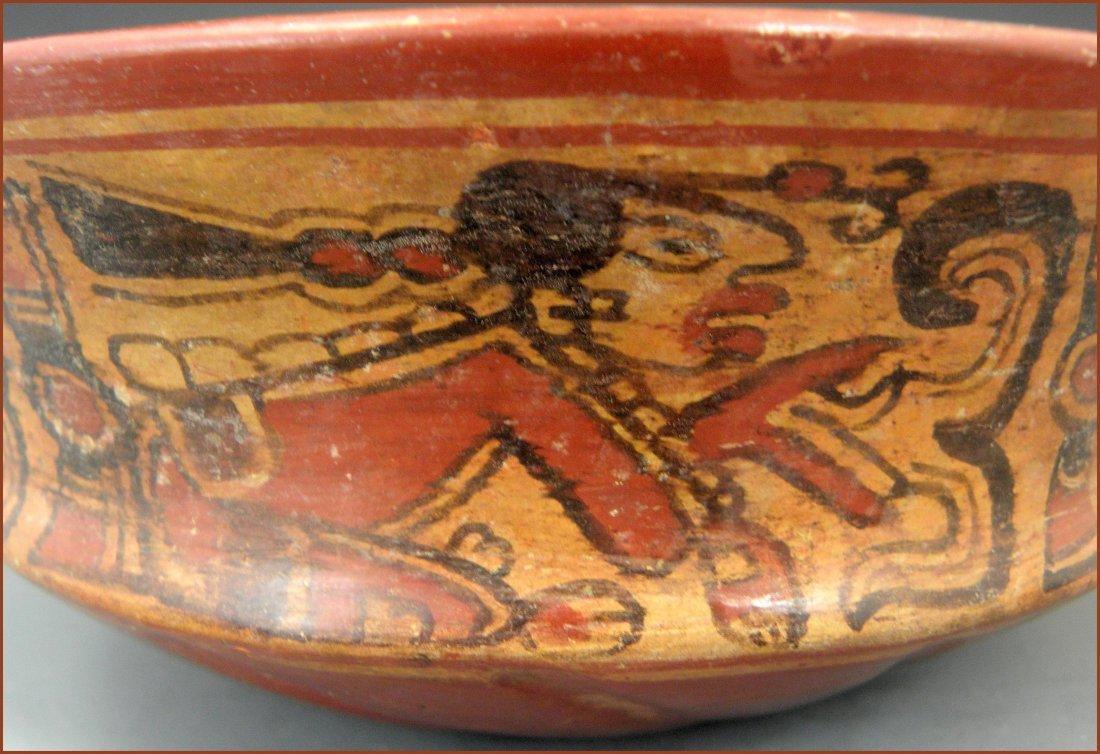 Pre-columbian Mayan Chiefs Bowl - 4