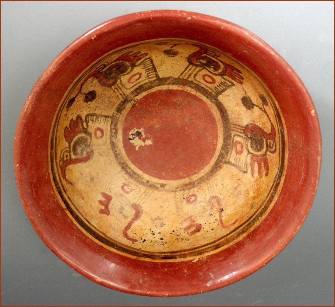 Pre-columbian Mayan Chiefs Bowl - 5