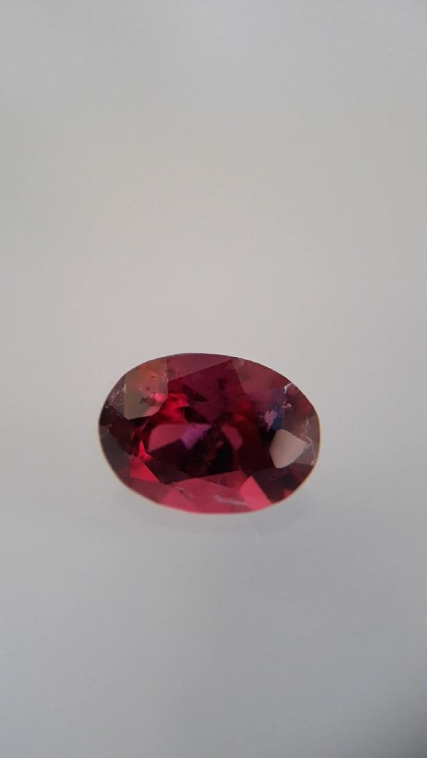 1.02ct Natural Rubellite, unheated, no radiation - 4