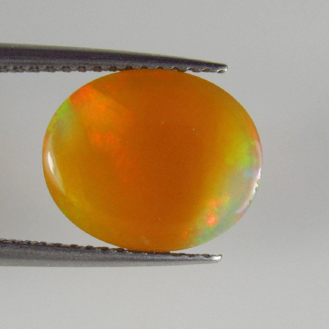 2.48 Ct Genuine Loose Ethiopian Multi-Color Fire Milky - 2
