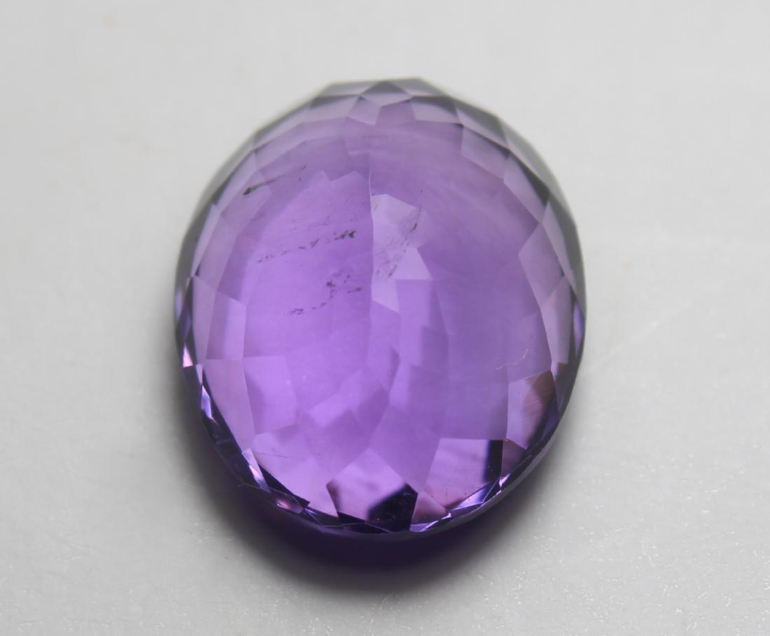 9.93 Ct Natural Amethyst - 4