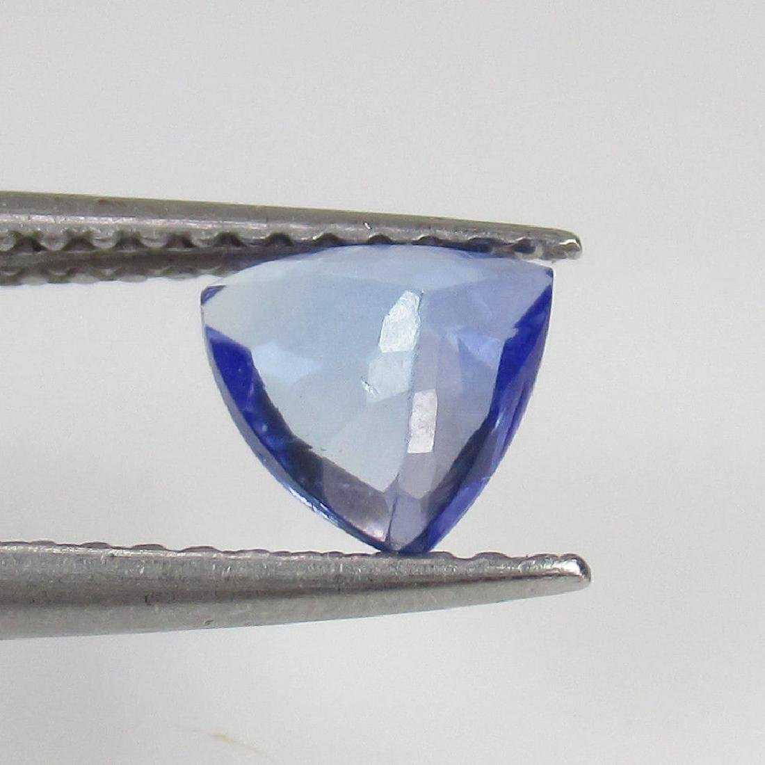 0.65 Ct Genuine Loose Natural Tanzanite Top Luster - 2