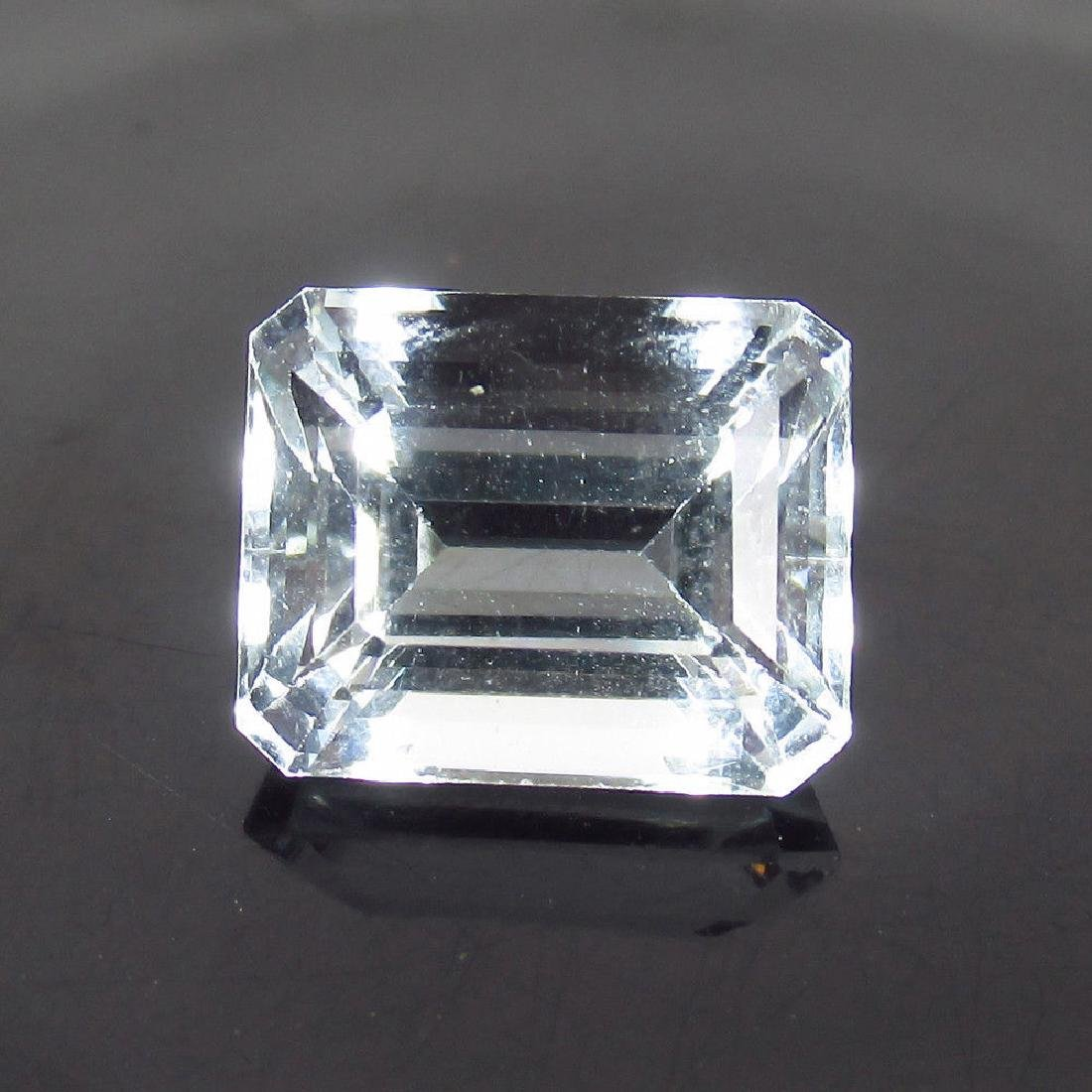 5.25 Ct Genuine Certified Loose White Beryl Ghosonite