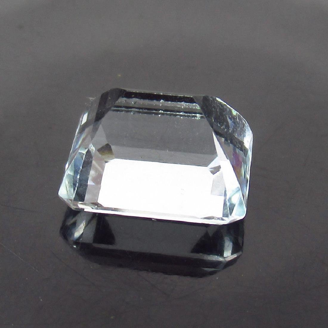 5.25 Ct Genuine Certified Loose White Beryl Ghosonite - 2