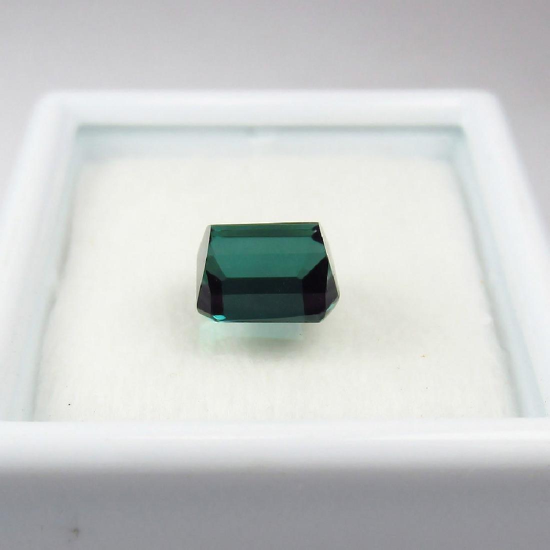1.55 Ct Genuine Loose Green Tourmaline Full Luster - 2