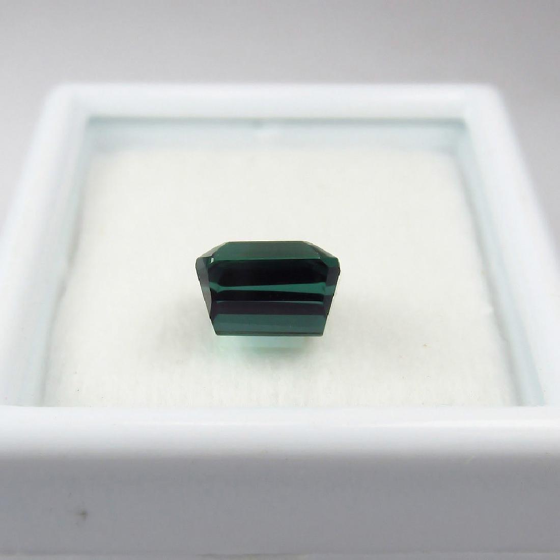 1.55 Ct Genuine Loose Green Tourmaline Full Luster - 3