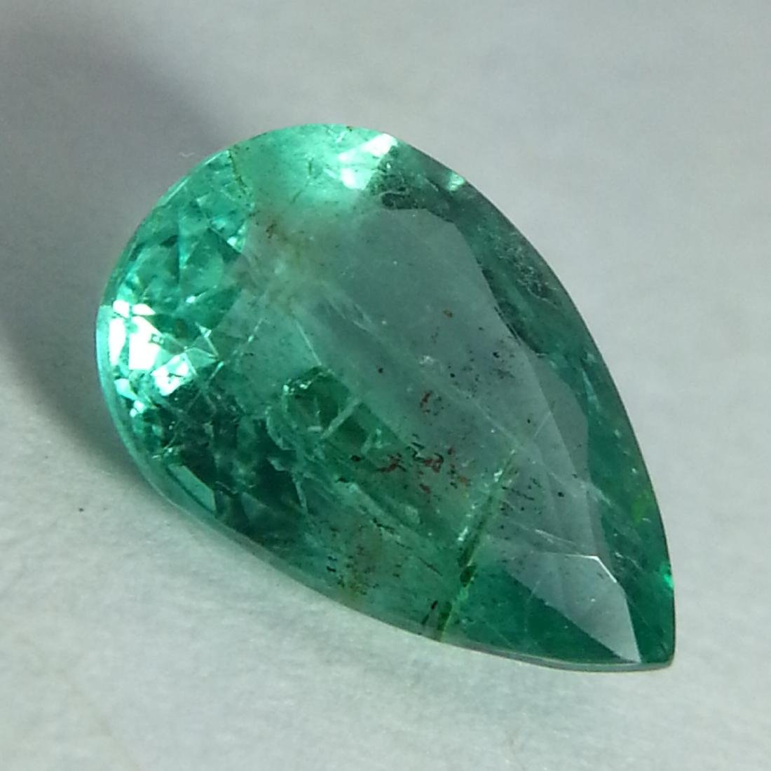 Lovely Pear Cut Natural Emerald - 1.46 ct