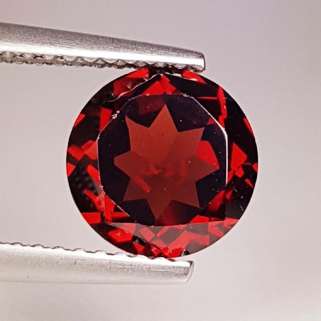 Natural Pyrope - Almandite Red Garnet - 2.34 ct