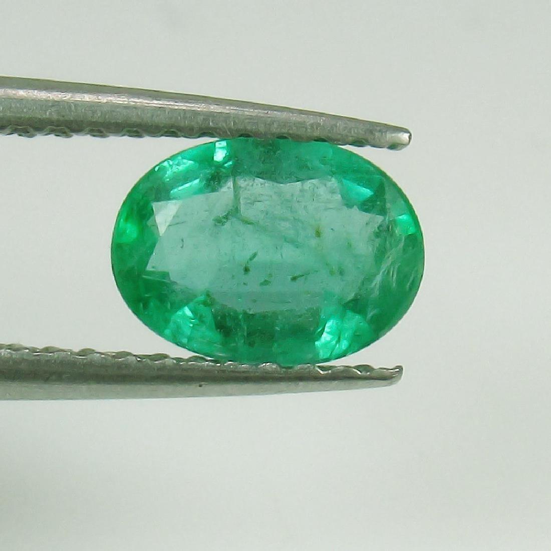 0.70 Ct Genuine Loose Zambian Emerald Nice Oval cut