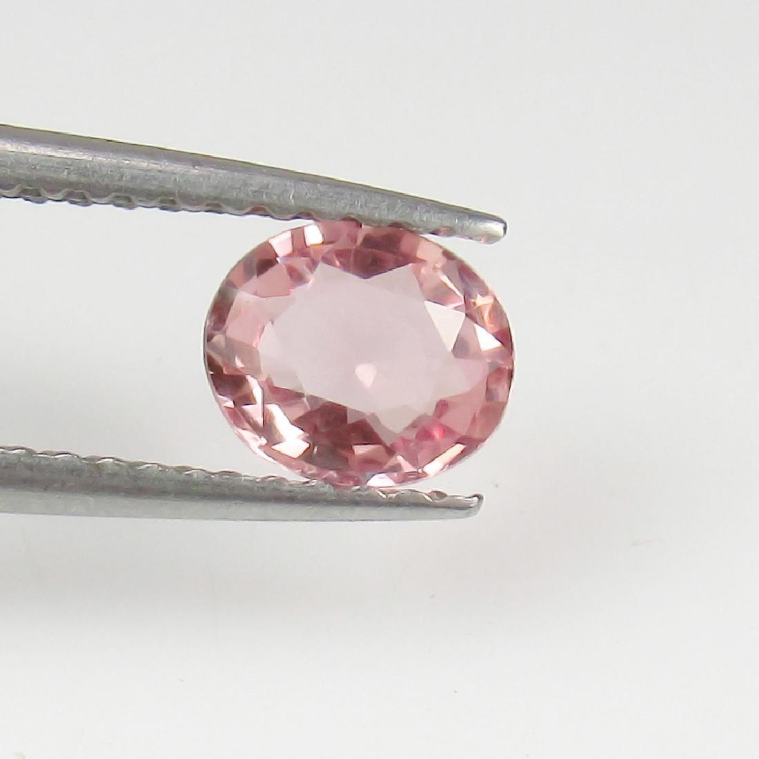 0.69 Ct Genuine Ceylon Unheated Sweet Pink Sapphire Top