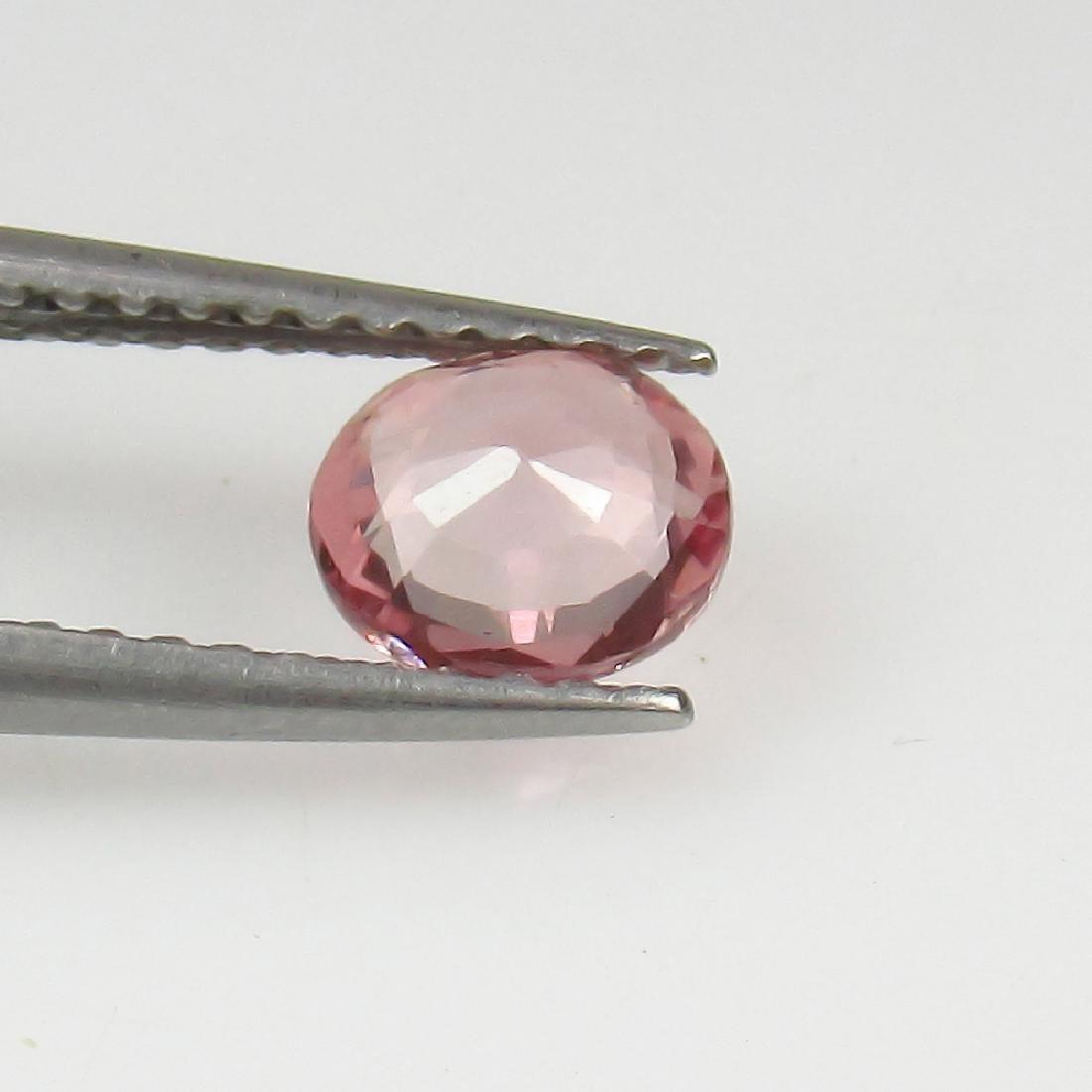 0.69 Ct Genuine Ceylon Unheated Sweet Pink Sapphire Top - 2