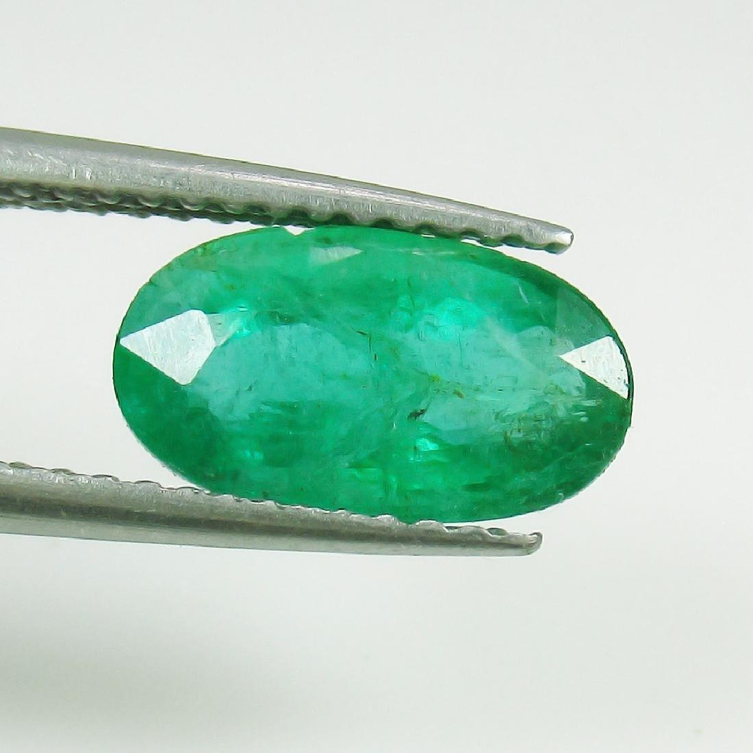 1.87 Ct Genuine Loose Zambian Emerald Nice Oval cut AAA