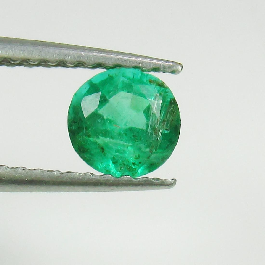 0.43 Ct Genuine Loose Zambian Emerald Good Luster 5.0