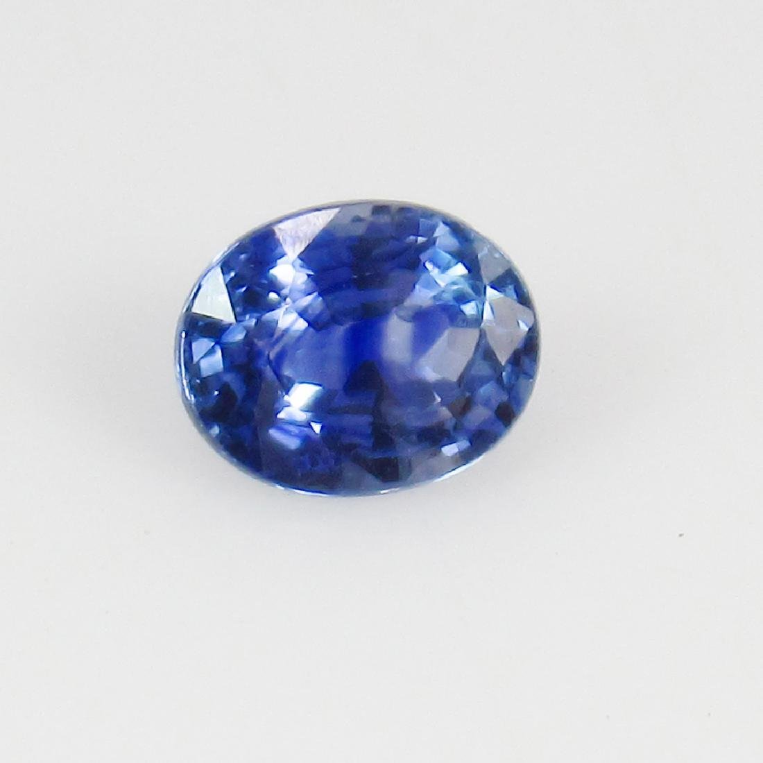 0.80 Ct Genuine Ceylon Blue Sapphire Top Class Luster