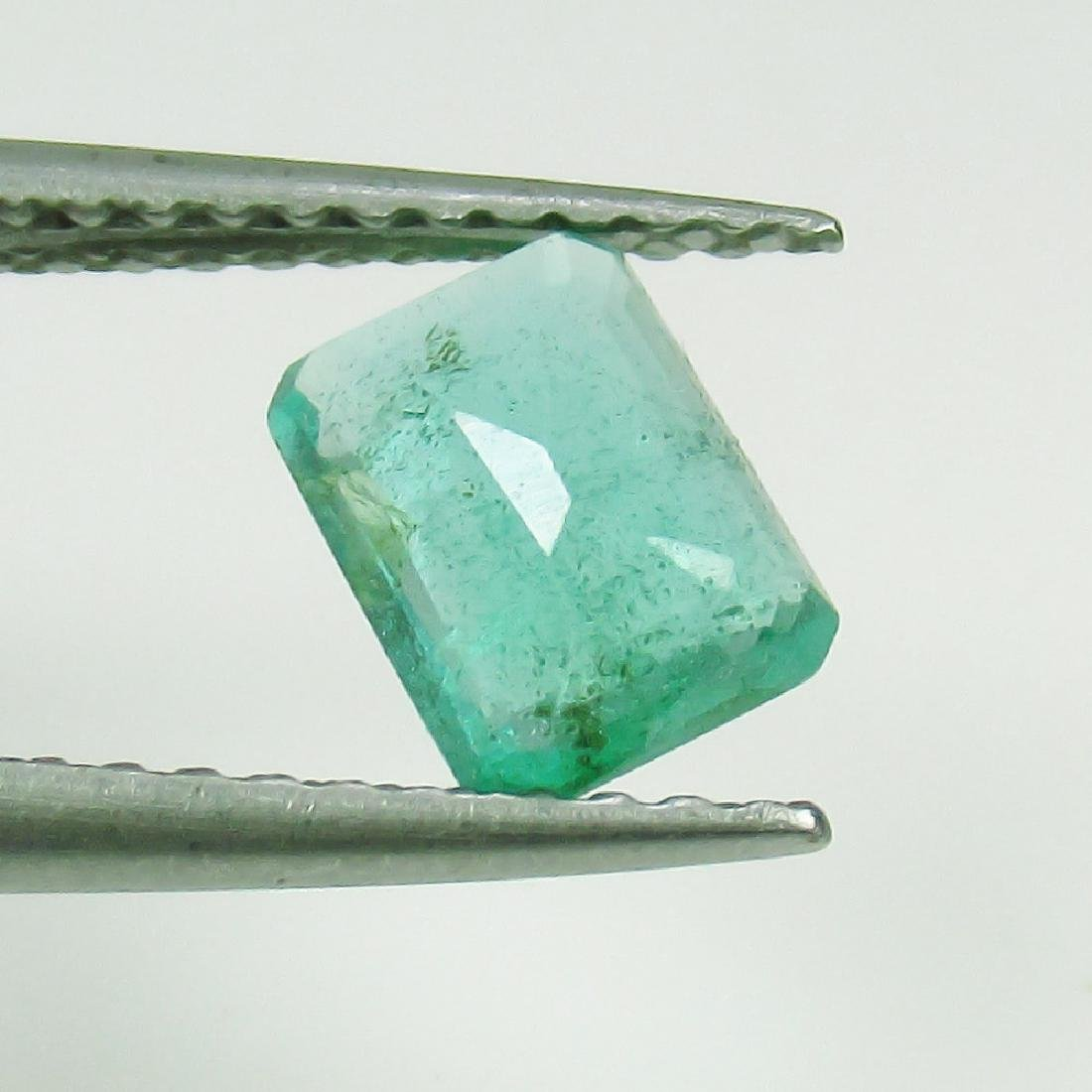 0.70 Ct Genuine Loose Zambian Emerald Excellent Octagon - 2