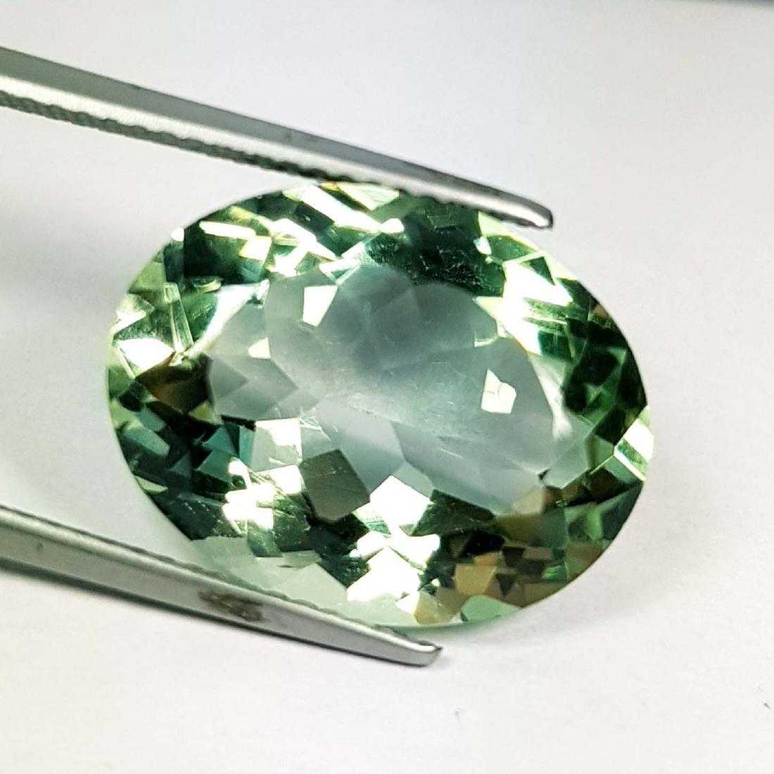 Natural Green Amethyst - 9.41 ct