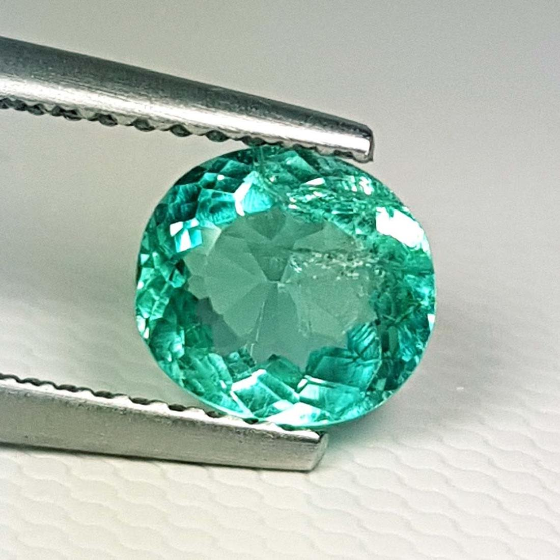 Natural Bluish Green Apatite - 1.16 ct