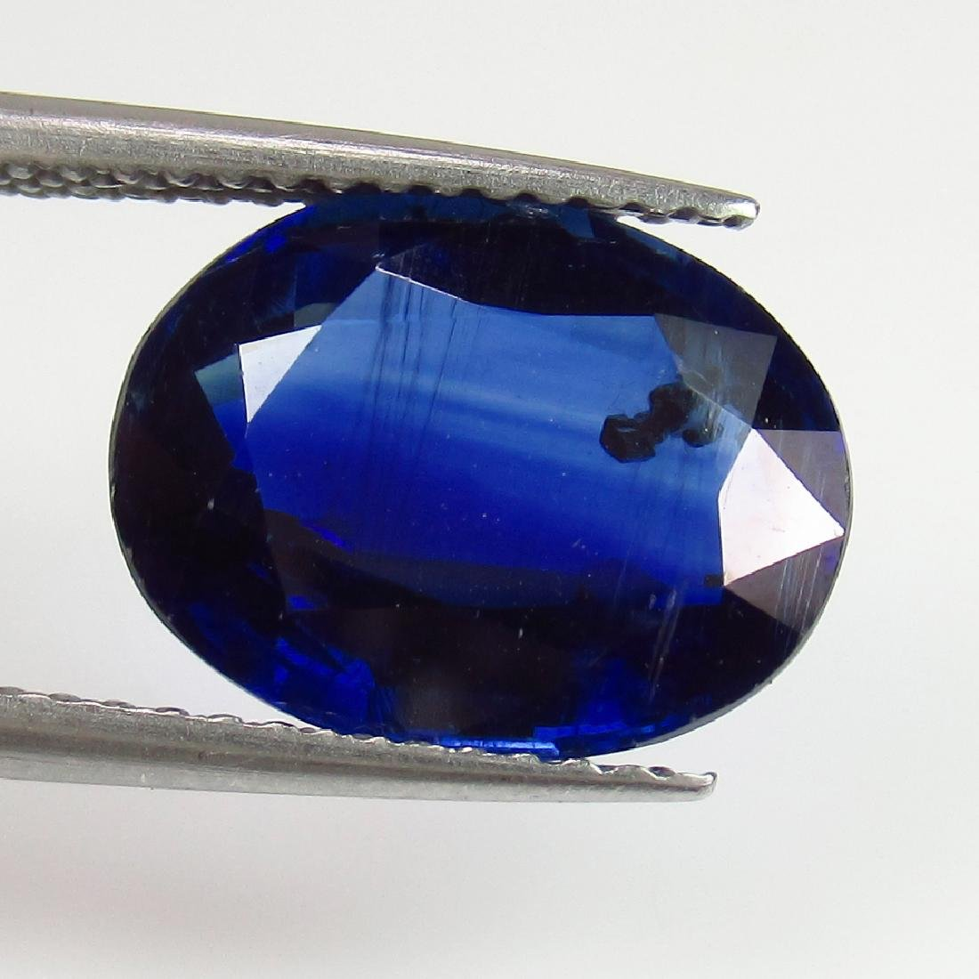 4.89 Ct Genuine Loose Deep Blue Kyanite