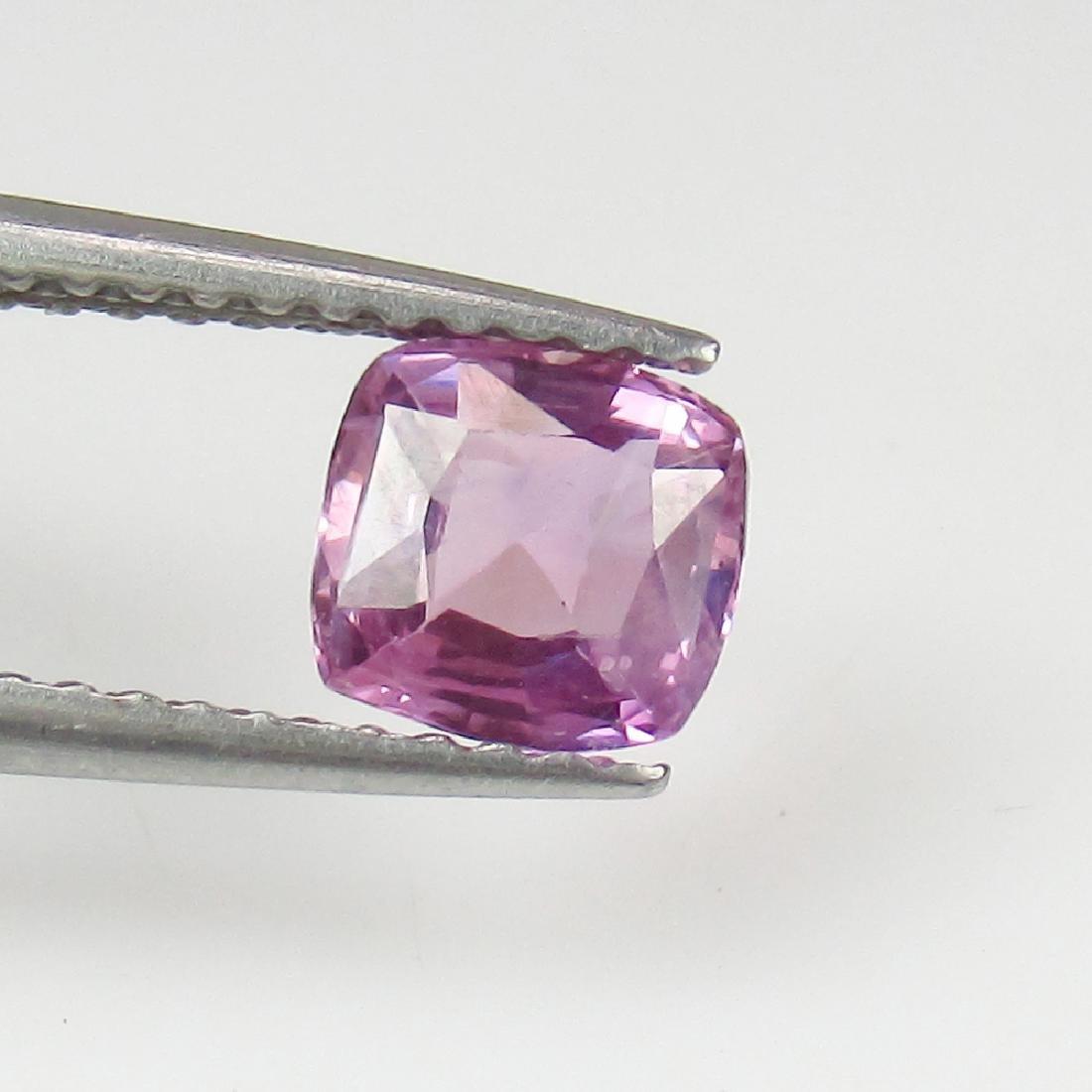 0.77 Ct Genuine Ceylon Unheated Sweet Pink Sapphire Top