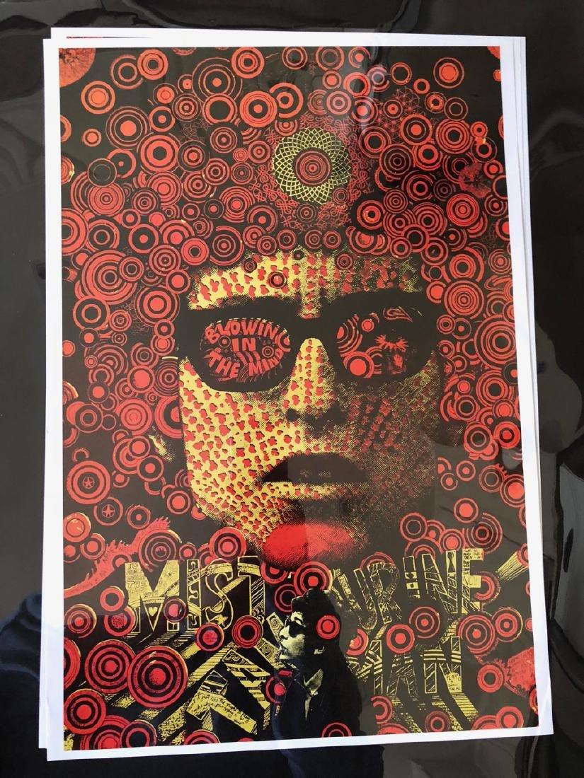 Bob Dylan - Blowin in the mind - Martin Sharp