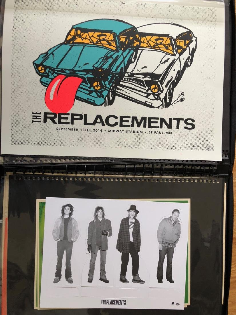 The Replacements two poster set