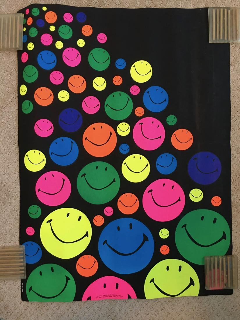 Smiles - BLACKLIGHT - 1971 - Personality Posters